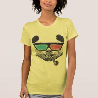 Vintage panda 3-D glasses Tshirt