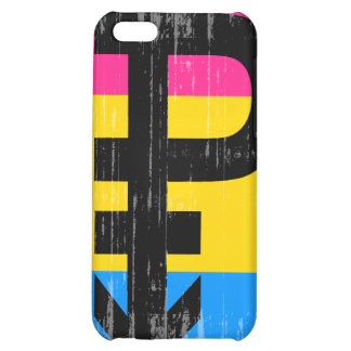 Vintage Pansexual Flag Cover For iPhone 5C