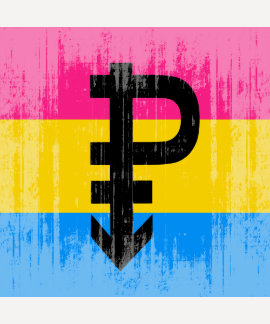 Vintage Pansexual Flag Tee Shirts