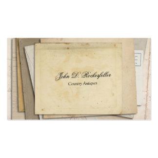Vintage Paper Ephemera Antiques Business Cards