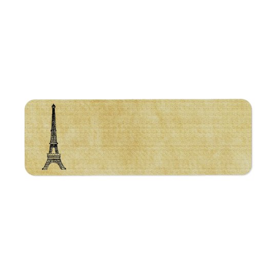 Vintage Paper French Chic Steampunk Eiffel Tower