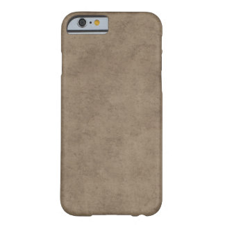 Vintage Paper Parchment Paper Template Blank Barely There iPhone 6 Case