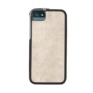 Vintage Paper Parchment Paper Template Blank Cover For iPhone 5