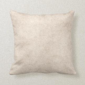 Vintage Paper Parchment Paper Template Blank Cushion