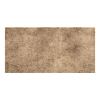Vintage Paper Parchment Paper Template Blank Personalized Photo Card