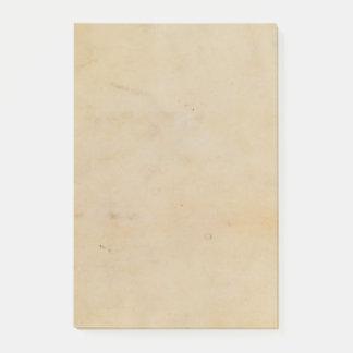 Vintage Paper Post-it Notes