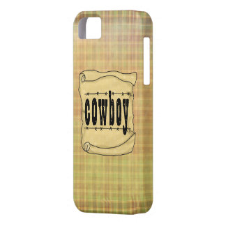 Vintage Paper w/Scroll Cowboy Case-Mate iPhone 5 iPhone 5 Covers