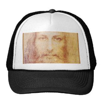 vintage papyrus portrait of Jesus Christ healing Trucker Hats