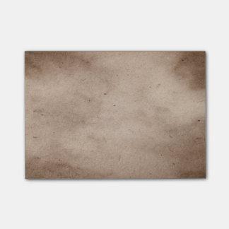 Vintage Parchment Antique Paper Background Blank Post-it Notes