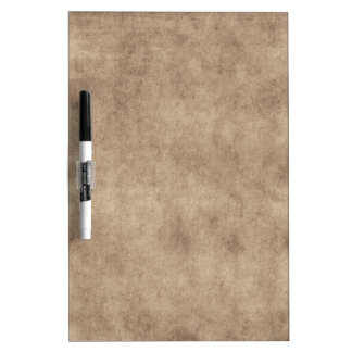 Vintage Parchment Antique Paper Background Custom Dry Erase Board