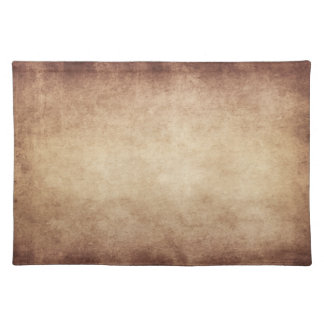 Vintage Parchment Antique Paper Background Custom Placemat