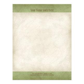 Vintage Parchment Look Letterhead Resume Paper 21.5 Cm X 28 Cm Flyer