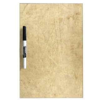 Vintage parchment  paper dry erase whiteboards