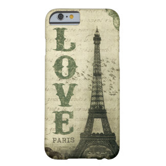 Vintage Paris Barely There iPhone 6 Case