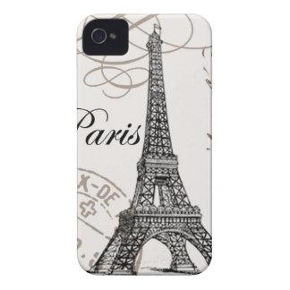 Vintage Paris...Blackberry case iPhone 4 Case-Mate Cases