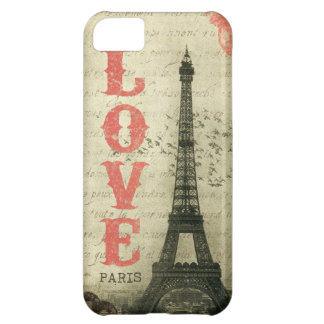 Vintage Paris iPhone 5C Case