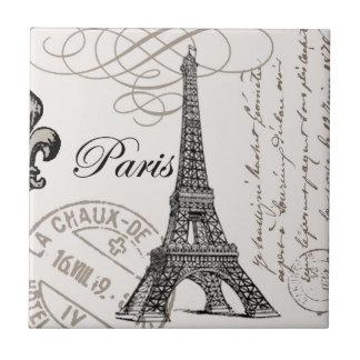 Vintage Paris...ceramic tile