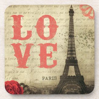 Vintage Paris Coasters