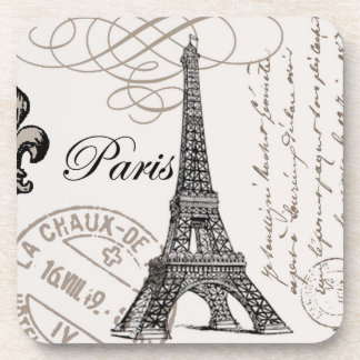 Vintage Paris...cork coaster
