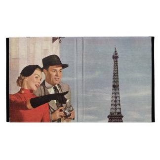 Vintage Paris - Eiffel Tower iPad Case