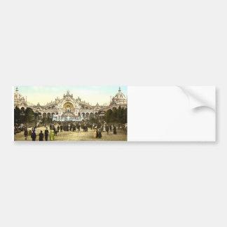 Vintage Paris Exposition of 1900 Bumper Sticker