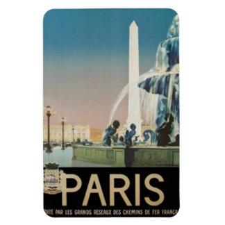 Vintage Paris, France - Rectangle Magnets