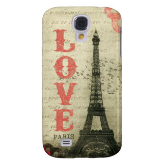 Vintage Paris Galaxy S4 Case