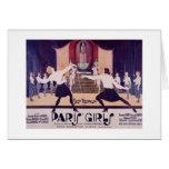 Vintage Paris Girls Fencing Note Card!