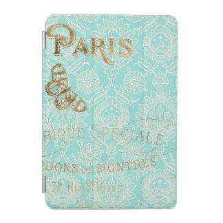 Vintage Paris Gold Design iPad Mini Cover