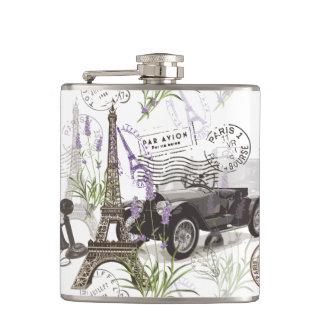 Vintage Paris Hip Flask