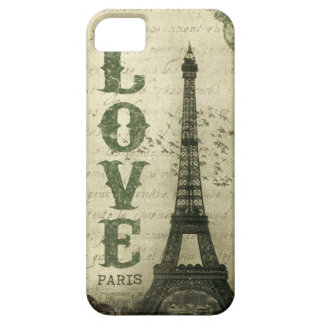 Vintage Paris iPhone 5 Cover
