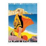 Vintage Paris Lyon Mediterranee Postcard
