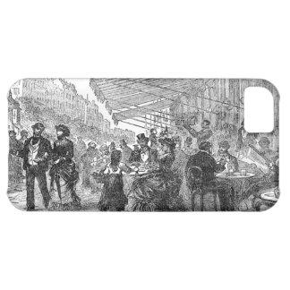 Vintage Paris Montmartre Cafe iPhone 5 iPhone 5C Case