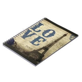 Vintage Paris Notebooks