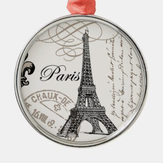 Vintage Paris...ornament Christmas Ornament