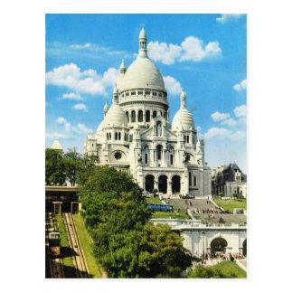 Vintage Paris Paris Sacre Coeur Montmatre Post Cards
