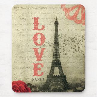 Vintage Paris | Pink Mouse Mat