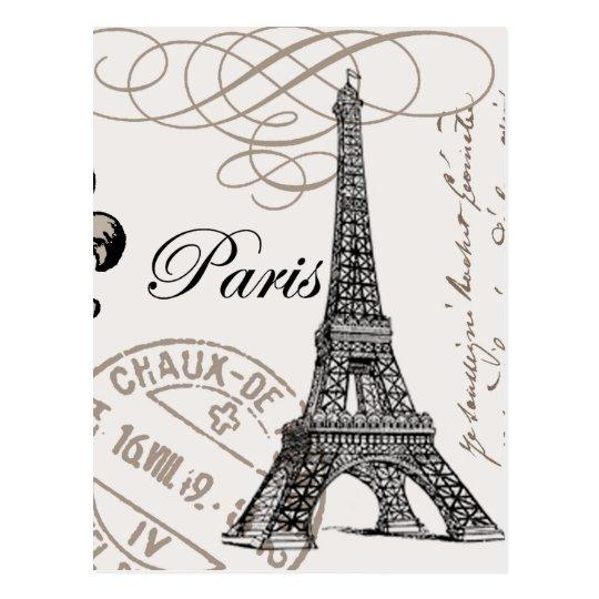Vintage Paris...postcard Postcard