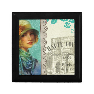 Vintage Paris poster Gift Box