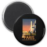Vintage Paris Refrigerator Magnet
