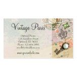 Vintage Paris Shabby Chic Crafting & Jewellery Pack Of Standard Business Cards