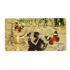 Vintage Paris Tango post card