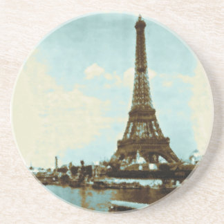Vintage Paris Water Color Coasters