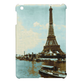 Vintage Paris Water Color - Eiffel Tower iPad Mini Cover