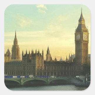 Vintage Parliament Square Sticker