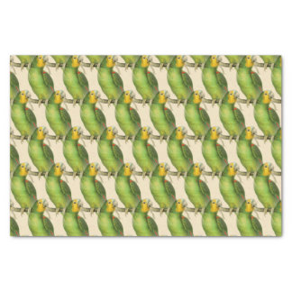 'Vintage Parrot Pattern' Tissue Paper