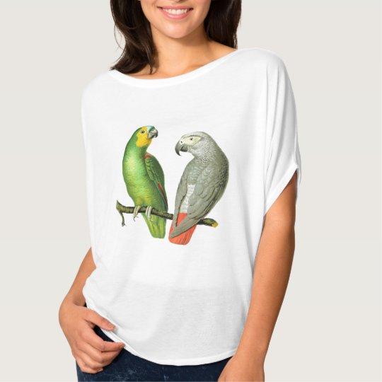 'Vintage Parrots V1' Summer Top