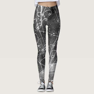 Vintage Particle Physics Leggings