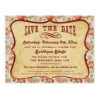 Vintage Party, Reunion or Event Save the Date Postcard