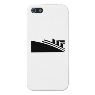 Vintage Passenger Cruise Liner Ship iPhone 5 Cover
